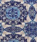 Anti-Pill Fleece Fabric 59\u0022-Serene Medallions