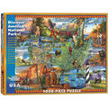 White Mountain Puzzles Jigsaw Puzzle National Parks