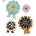 Simplicity Pattern 8443 Misses\u0027 Hair Accessories, Purses & Medallions