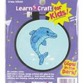 Dimensions Learn-A-Craft Dolphin Delight Stpd X-Stitch Kit
