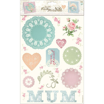 Docrafts Papermania Vintage Notes Decoupage Mum