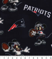 New England Patriots Fleece Fabric-Mickey, , hi-res