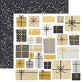 Kaisercraft First Noel 10 pk Double-sided Specialty Cardstock-Wrapped