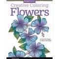 Design Originals Creative Coloring Flowers Coloring Book