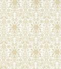Christmas Cotton Fabric 43\u0022-Metallic Damask