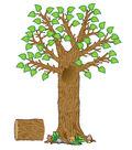 Seasonal Tree Bulletin Board Display Set