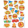 Pizza Scented Stickers 12 Packs