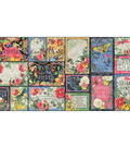 Flutter Ephemera Cards-(16) 4\u0022X6\u0022 & (16) 3\u0022X4\u0022