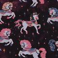 Novelty Cotton Fabric-Carousel Galaxy Unicorns