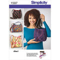 Simplicity Pattern 1597OS One Size -Crafts Accessories