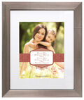Wall Frame 16X20 Mat To 11X14-Silver With Bumps