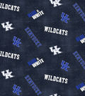 University of Kentucky Wildcats Flannel Fabric 42\u0022-Dsitressed Logo