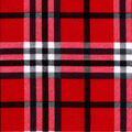 Snuggle Flannel Fabric-Traditional Light Red Plaid