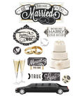 Paper House 3D Stickers-Eat, Drink & Be Married