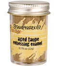 Stampendous Aged Embossing Enamel-Taupe