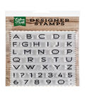 Echo Park Paper Company 40 pk Designer Stamps-Owen Uppercase
