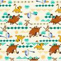 Disney Lion King Cotton Fabric-Simba Geo