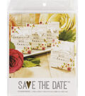 Save The Date Pack of 12 Favor Box-Showered with Love