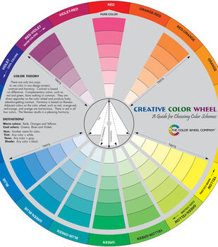 Creative Color Wheel-9.25""