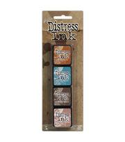 Tim Holtz Distress Mini Ink Pads 4/Pkg-Kit 6, , hi-res