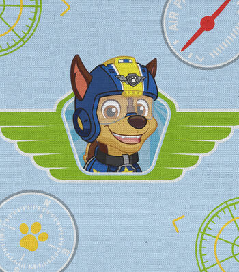 """Paw Patrol Cotton Fabric 43""""-Heroes Of The Sky"""