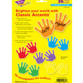 Handprints Classic Accents Variety Pack, 36 Per Pack, 6 Packs