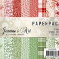 Find It Jeanine\u0027s Art Paper Pack 6\u0022X6\u0022 23/Pkg-Christmas Classics