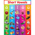 Scholastic Short Vowels Chart 12pk