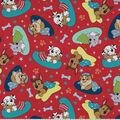 Paw Patrol Cotton Fabric-Bedtime