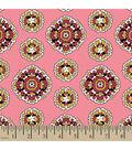 Springmaid Premium Cotton Fabric 44\u0022-Medallion