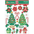 25 Days Of Christmas Silhouettes Die-Cuts 328/Pkg-