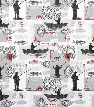Super Snuggle Flannel Fabric-Fisherman Patch