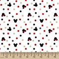 Disney Minnie & Mickey Knit Fabric-Foil Dot