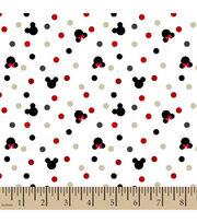 Disney Minnie & Mickey Knit Fabric-Foil Dot, , hi-res