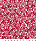 Quilter\u0027s Showcase Cotton Fabric -Mums Red