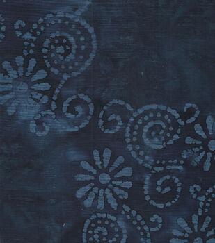 Cotton Fabric-Gauze Batik Indigo