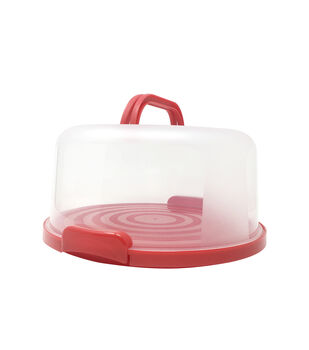 Cake Carrier-Red