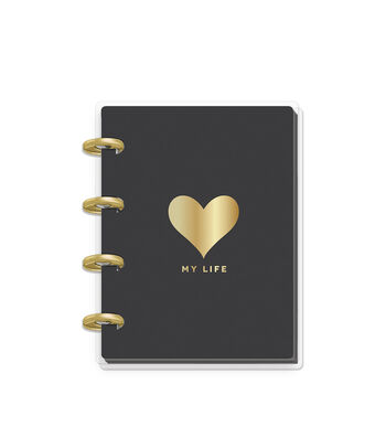 The Happy Planner Happy Notes 60-sheet Micro Notebook-Heart