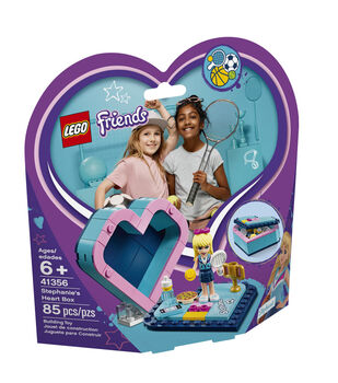 LEGO Friends Stephanie's Heart Box 4135