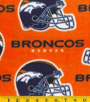 Denver Broncos Fleece Fabric -Orange, , hi-res