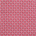 Americana Summer Crinkle Rayon Fabric-Red Intertwined