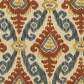 PKL Studio Outdoor Fabric 9\u0022x9\u0022 Swatch-East Indies Coffee Bean