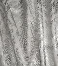 Waverly Upholstery Fabric 54\u0027\u0027-Pewter Paisley Aglow
