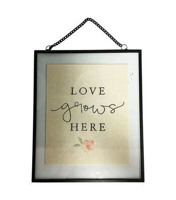 Simply Spring 12'' Wall Decor-Love Grows Here