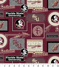 College Teams Florida State Seminoles Cotton Fabric -Packed Patches