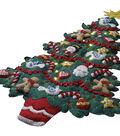 Bucilla Felt Wall Hanging Applique Kit-Merry & Bright Christmas Tree