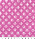 Quilter\u0027s Showcase Fabric -Opera Mauve Aztec Geometric