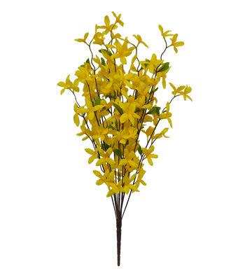 Fresh Picked Spring 27'' Forsythia Bush-Yellow