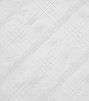 Sew Classics Cotton Fabric -White