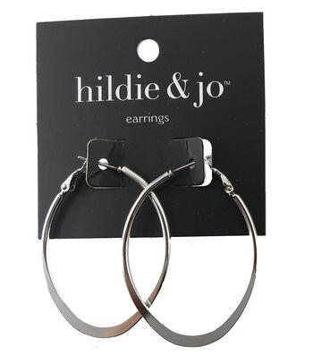 hildie & jo Silver Hoop Earrings